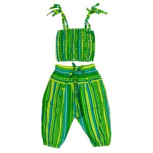 NWOT Summer Matching Set (Pants/Top) Size 4